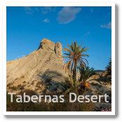 Desert of Tabernas in Almeria, Spain