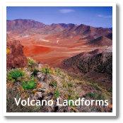 Volcano Landscapes in Almeria, Spain