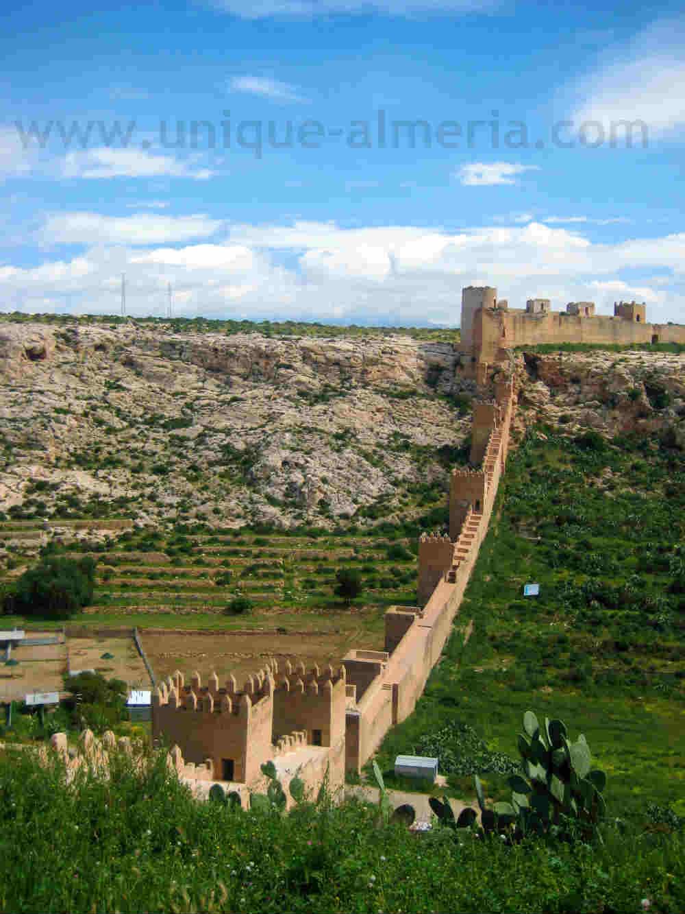 Jayran Walls - Alcazaba, Almeria, Spain