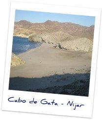 Take a tour through the Natural Park of Cabo de Gata >>