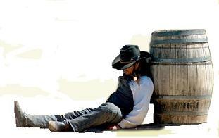 Cowboy at Mini Hollywood Almeria, Spain