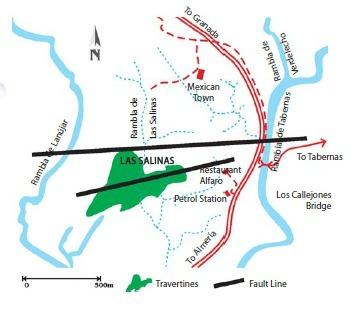 tabernas map