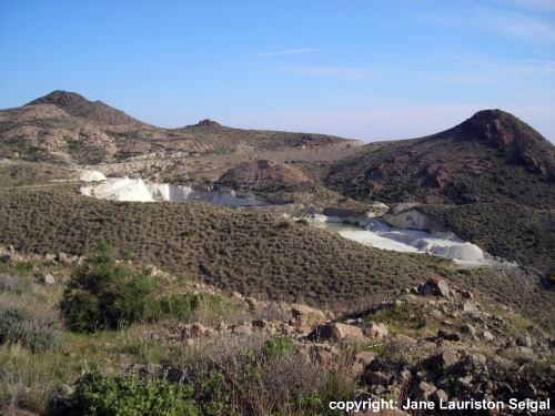 Walking Tour Cabo de Gata - The defunct quarry