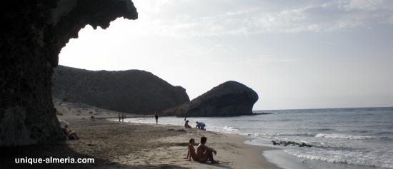 Monsul Beach at Cabo de Gata Naturalpark