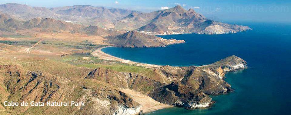 Cabo de Gata Natural Park in Almeria, Spain