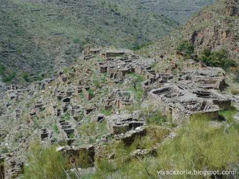 Los Canos - abandoned village in Sierra de los Filabres