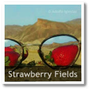 John Lennon composing 'Strawberry Fields Forever' in Almeria