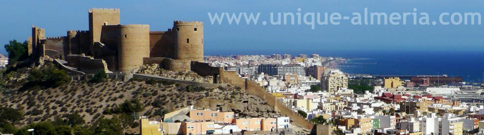 Alcazaba Fortress Almeria City