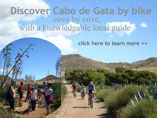 Cycling Cabo de Gata cove by cove