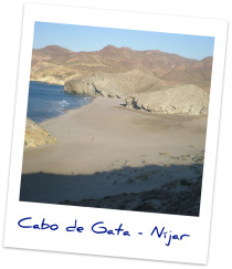 Take a tour through the Natural Park of Cabo de Gata >>