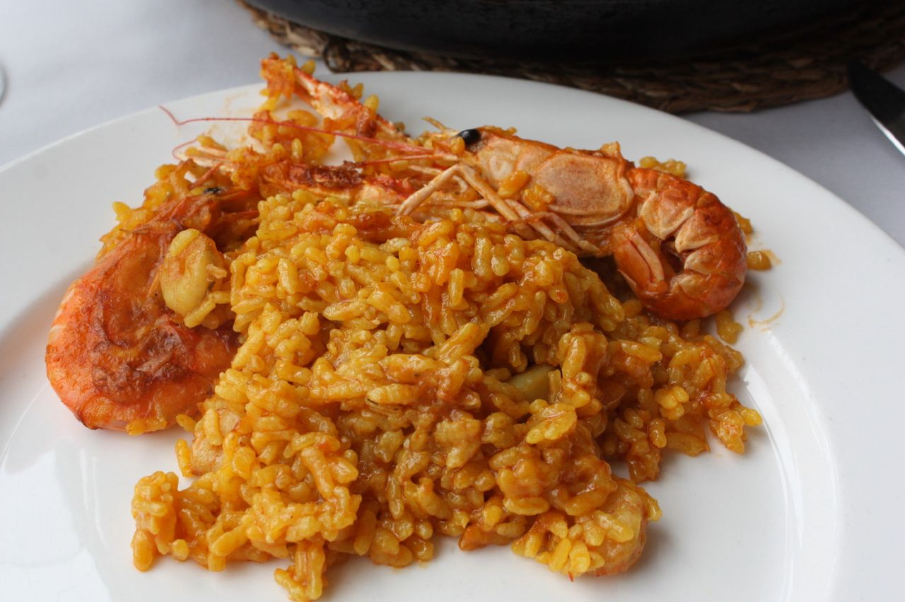 Paella Marisco in Valenica
