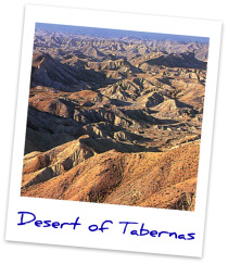 Visit the Desert of Tabernas here >>