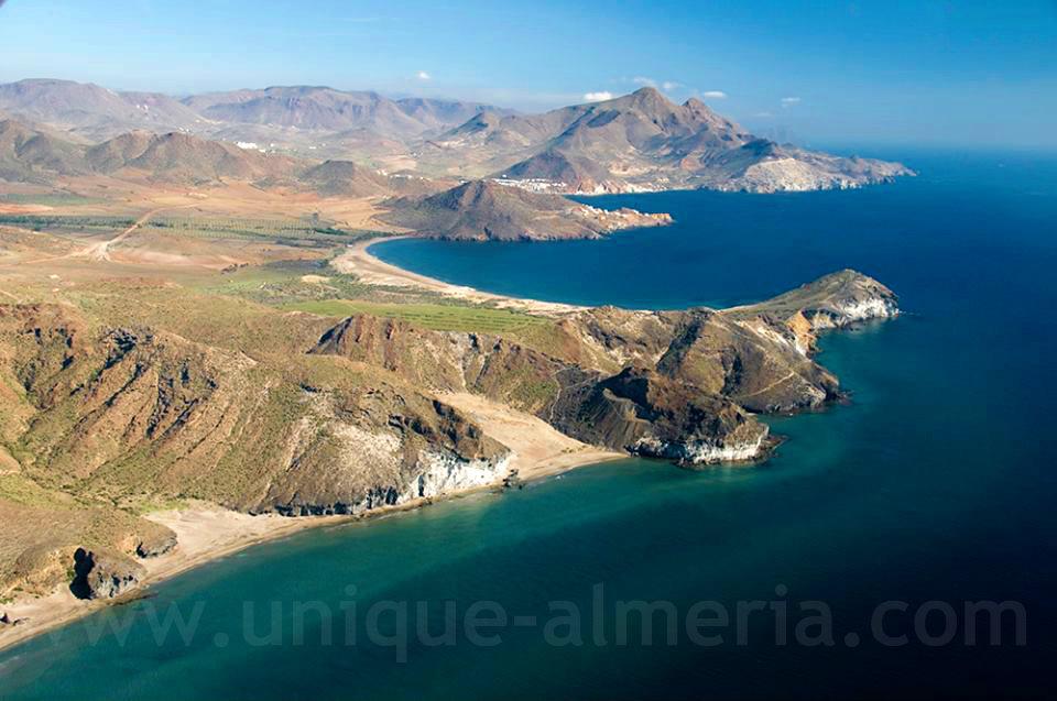 Los Genoveses Beach - Cabo de Gata Natural Park - Almeria, Spain