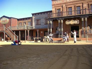 Movie Shooting at Mini Hollywood Tabernas