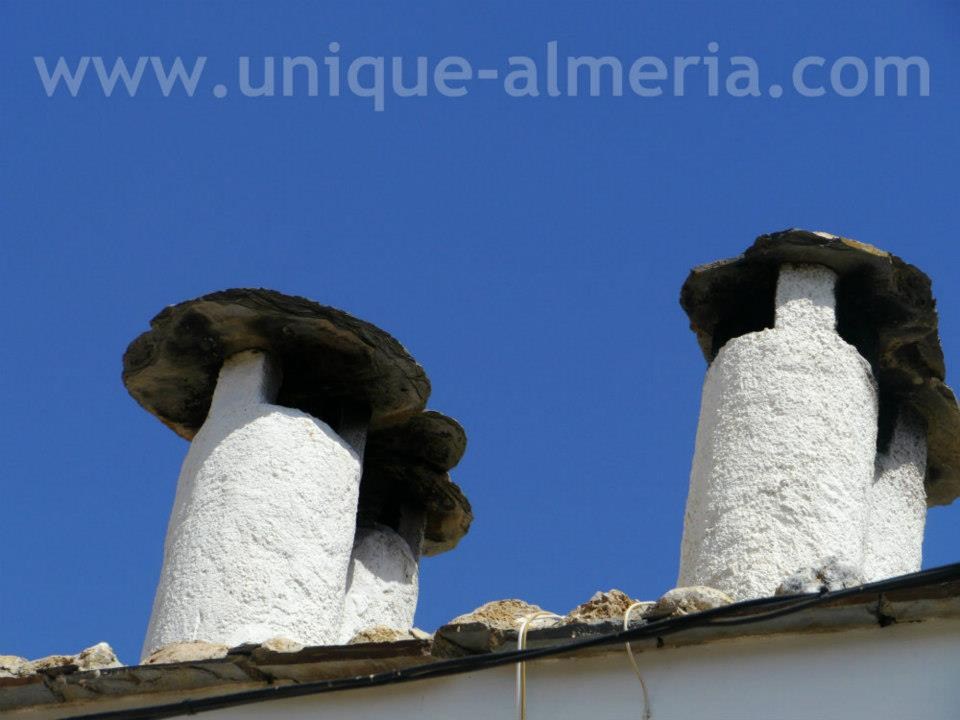 Typical Alpujarra chimneys