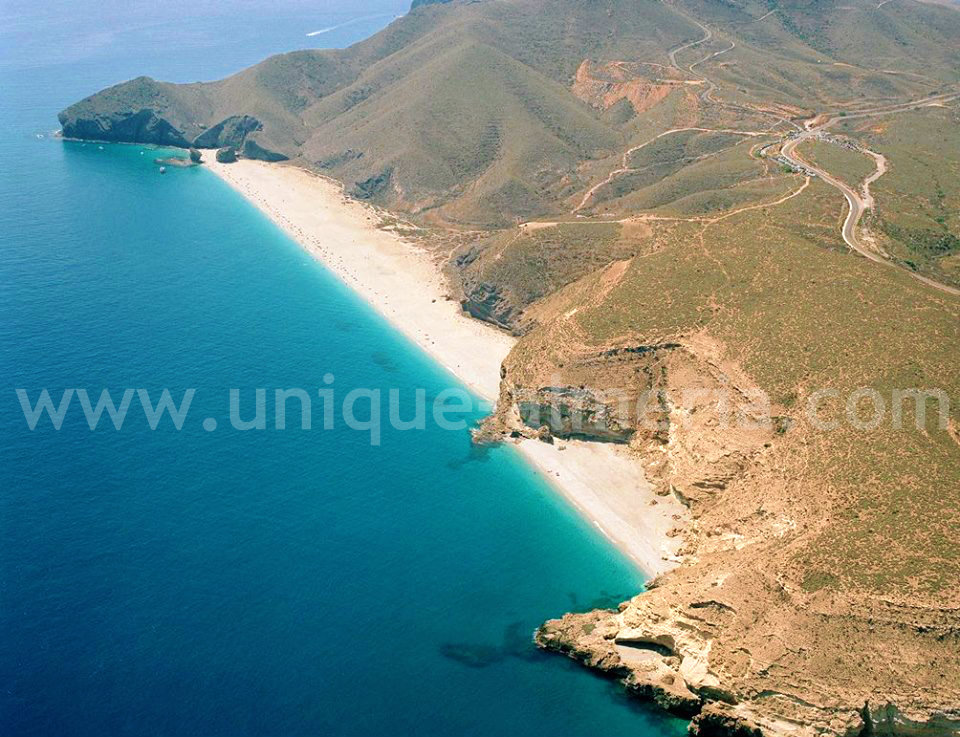 Playa de los Muertos - Cabo de Gata Natural Park in Almeria, Spain