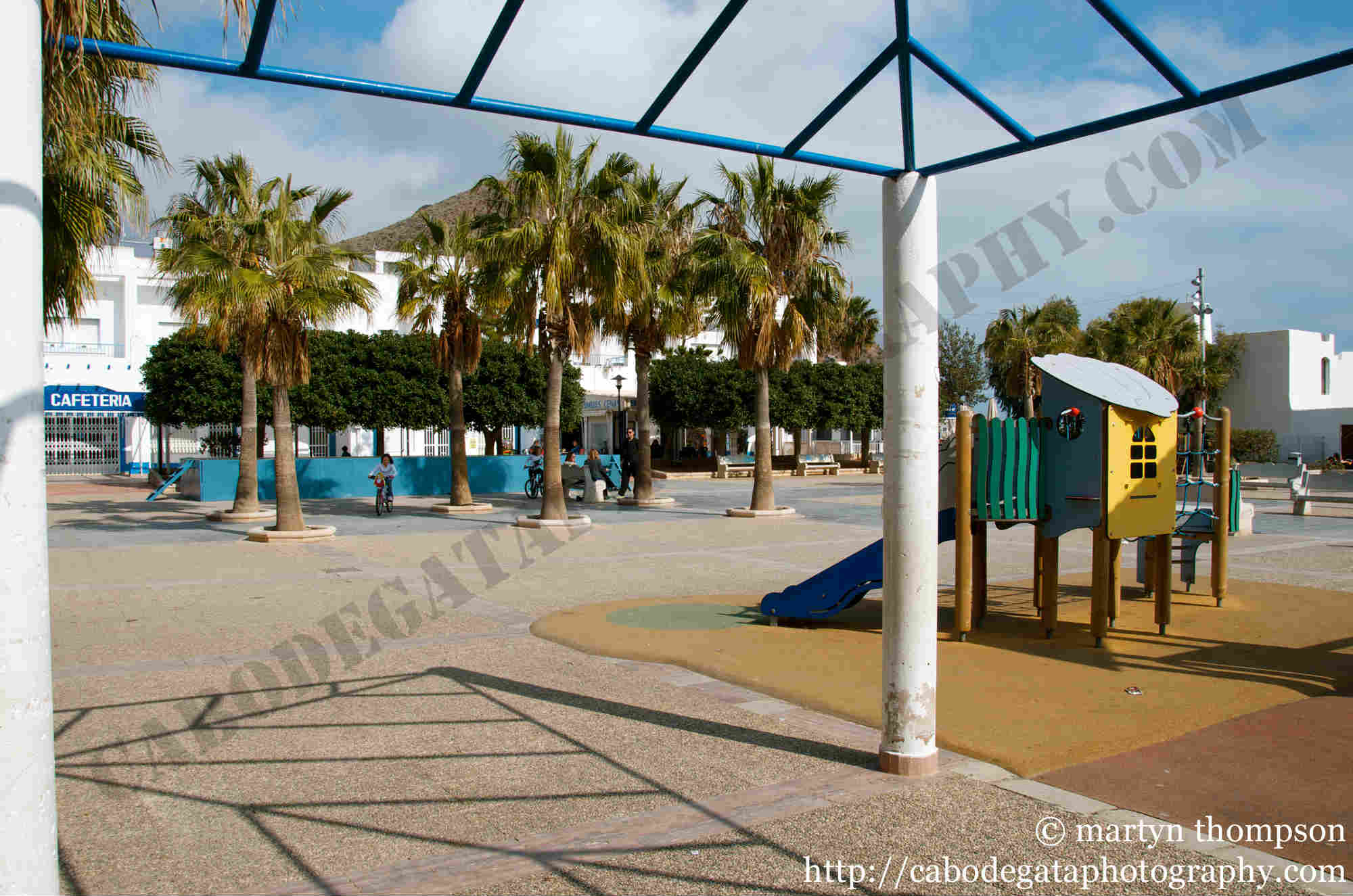 Plaza Genova - San Jose, Almeria