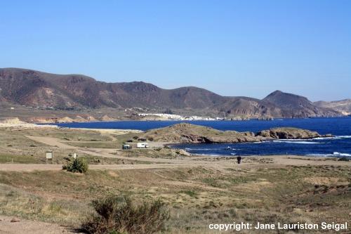 Cabo de Gata: View to Isleta del Moro