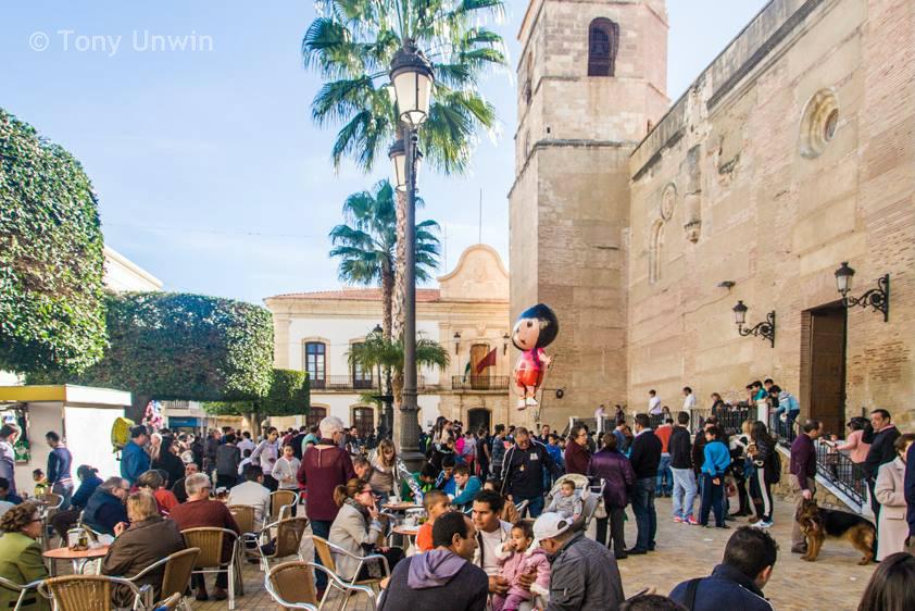 Vera Plaza Mayor (Almeria, Spain)