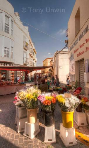 Vera market (Almeria, Spain)