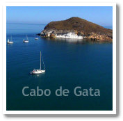 Cabo de Gata in Almeria, Spain