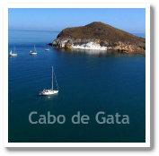 Cabo de Gata Natural Park - Los Genoveses in Almeria, Spain