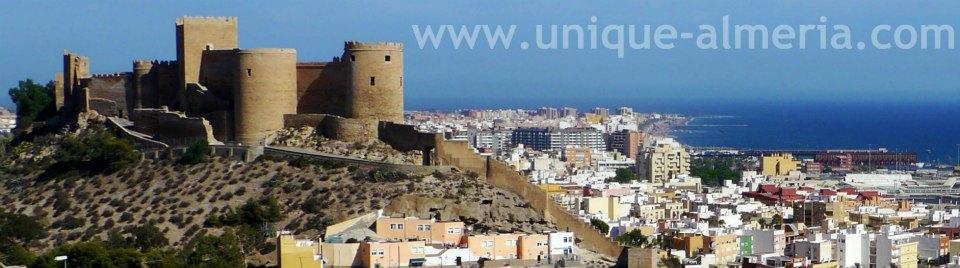 Alcazaba Fortress Almeria City