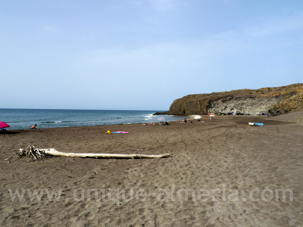 Barronal Beach near San Jose Cabo de Gata Nijar Natural Park
