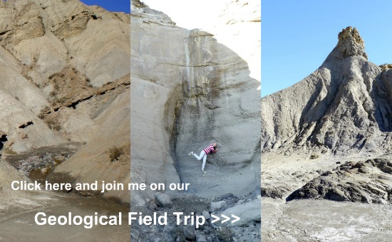 Click and join me on our geological field trip through the desert >>
