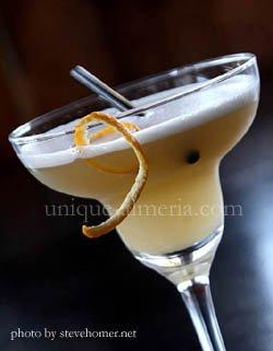 Cocktail at El Barrio Libre in Mojacar