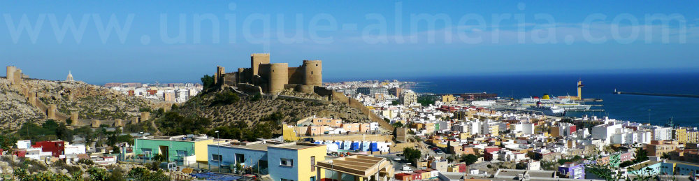 Largest Muslim Fortress in Spain: The Alcazaba of Almeria