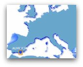 Google Map Of Southern Spain.Map Of Almeria Spain Map Southern Spain Cabo De Gata Map Costa