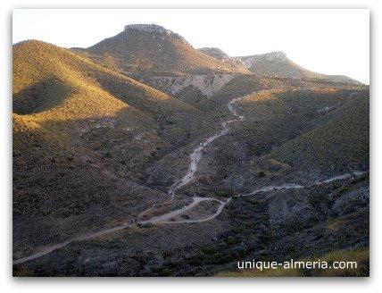Hiking trail to reach Playa de los Muertos