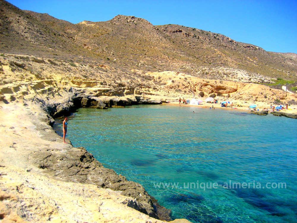 El Playazo in Rodalquilar, Cabo de Gata Nijar Natural Park, Almeria (Spain)