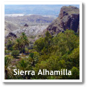 Sierra Alhamilla in Almeria, Spain