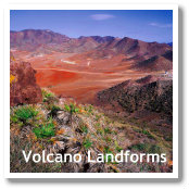 Volcano Landscapes in Almeria, Spain